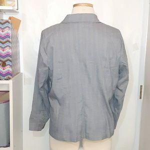 Lane Bryant Jackets & Coats - Lane Bryant   Grey Blazer